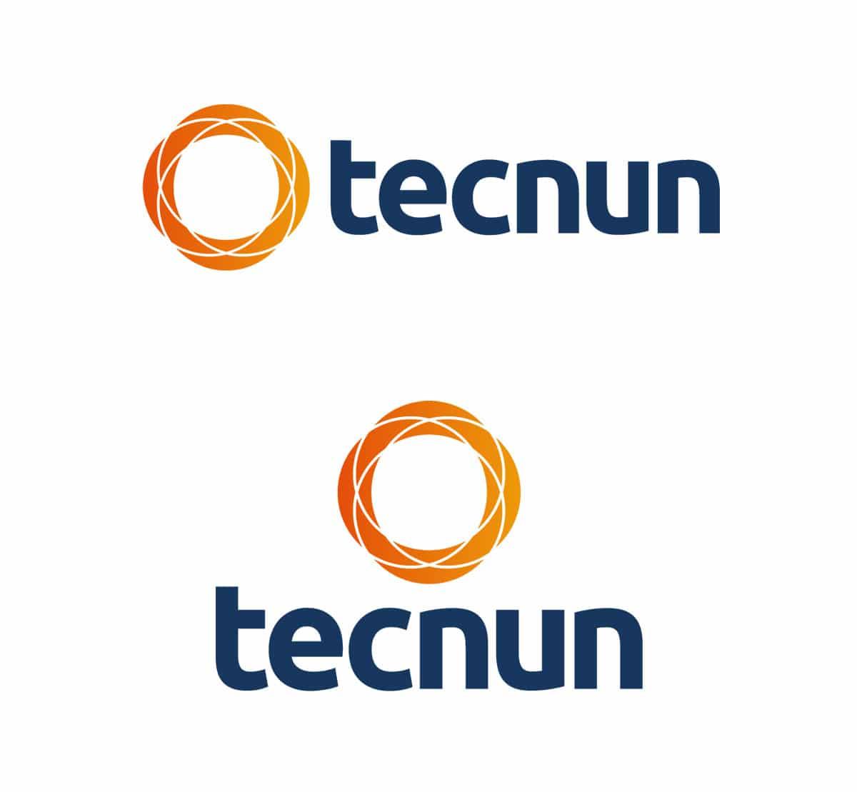 Logotipo Tecnun desenvolvido pelo Estúdio Rubio