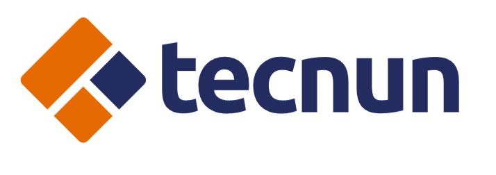 Segunda opção do logotipo Tecnun, desenvolvido pelo Estúdio Rubio
