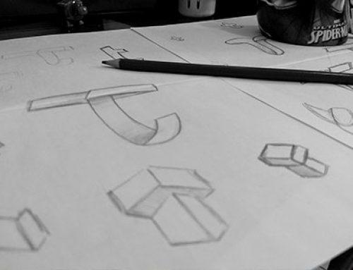 Processo de criação de logotipo – Tecnun